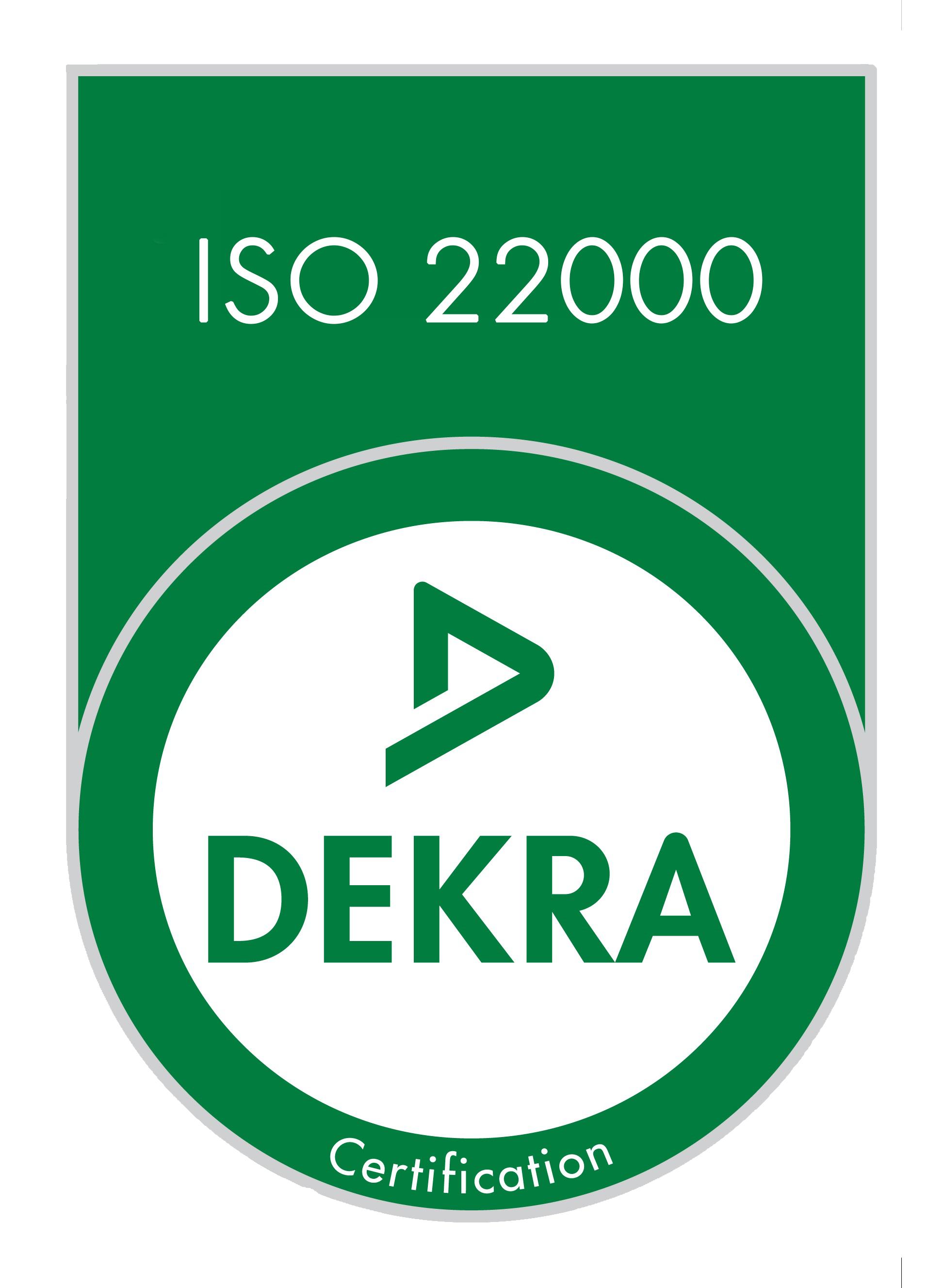 Site de production de matières premières aromatiques Iso 22000